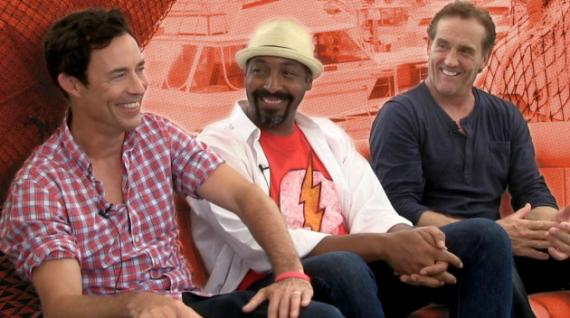 Tom Cavanagh, Jesse L. Martin y John Wesley Shipp hablan de The Flash