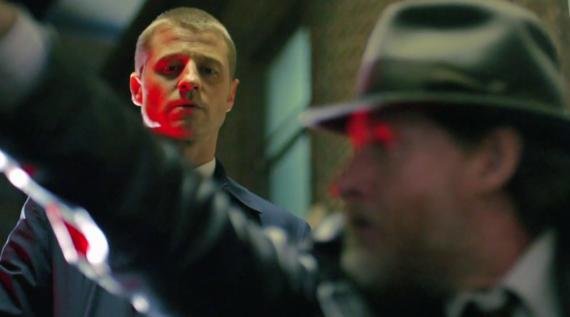 Captura del trailer  de Gotham: The Good, The Bad, The Beginning