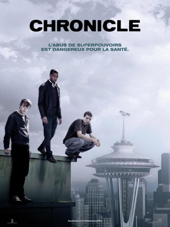 Póster para Francia de Chronicle (2012)