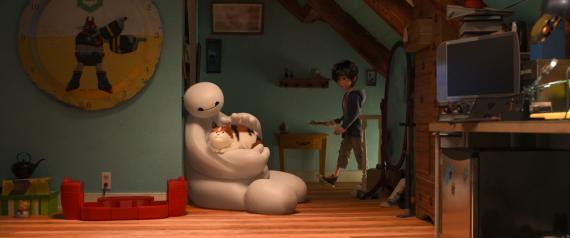 Captura del trailer de 6 Héroes / Big Hero 6 (2014)