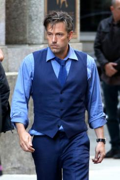 Ben Affleck como Bruce Wayne en el set de Batman v Superman: Dawn of Justice (2016)