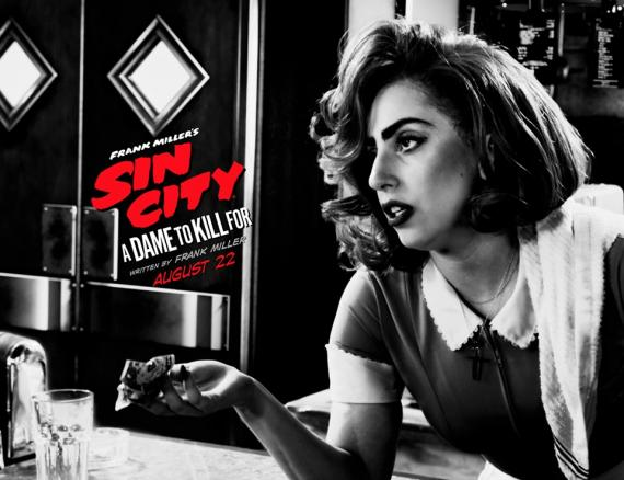 Imagen promocional Sin City: A Dame to Kill For (2014), Lady Gaga