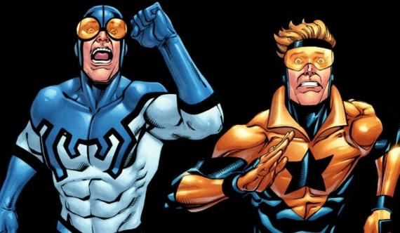 Blue Beetle y Booster Gold