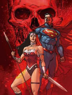 Portada de Superman/Wonder Woman #13 por Doug Mahnke