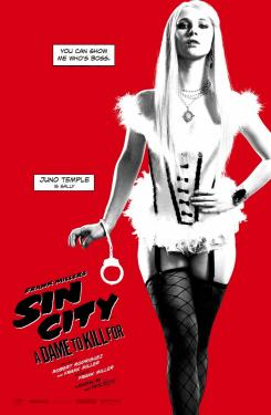 Póster individual de Sin City: A Dame to Kill For (2014), Juno Temple es Sally