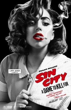 Póster individual de Sin City: A Dame to Kill For (2014), Lady Gaga es Bertha