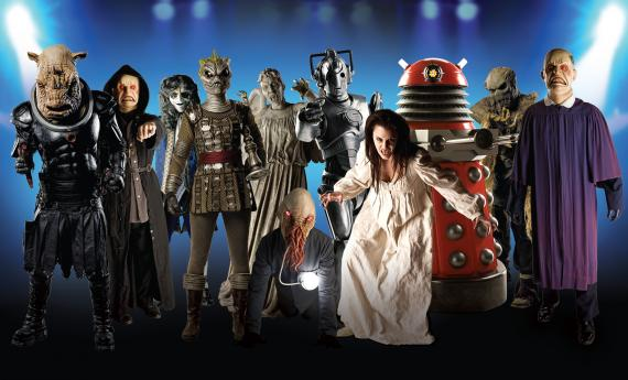 Monstruos y villanos de Doctor Who