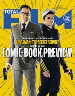 Revista de la portada Total Film dedicada a Kingsman: The Secret Service (2015)