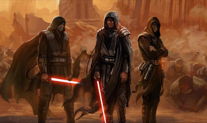 Los primeros Lord Sith en Korriban, el planeta natal de los Sith