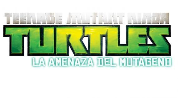 Logo del videojuego Teenage Mutant Ninja Turtles: La Amenaza del Mutágeno