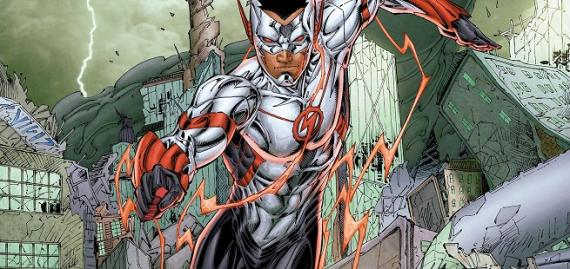 Wally West como Flash en el futuro Five Years Later de los Nuevos 52
