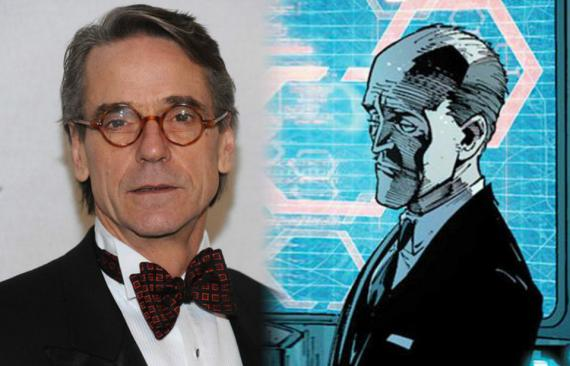 Jeremy Irons es Alfred Pennyworth en Batman v Superman: Dawn of Justice (2016)