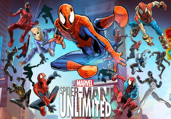 Captura de Spider-Man Unlimited (2014) para dispositivos móviles