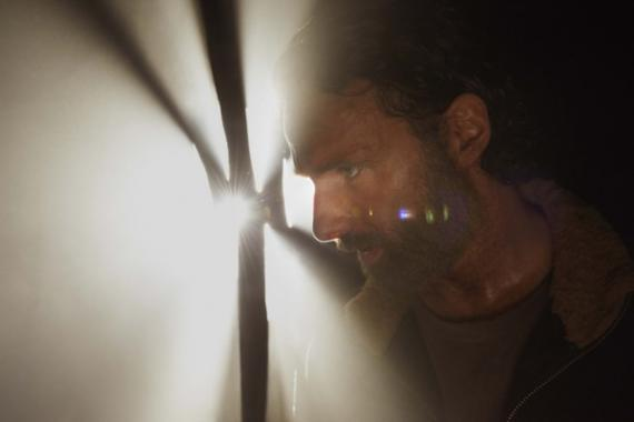 Rick en la quinta temporada de The Walking Dead