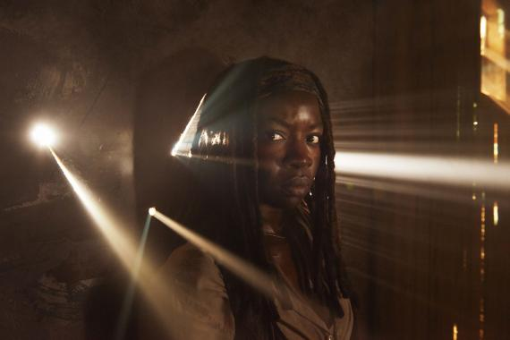 Michonne en la quinta temporada de The Walking Dead