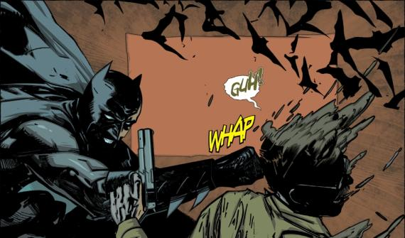 Viñeta de Batman: The Dark Knight #22