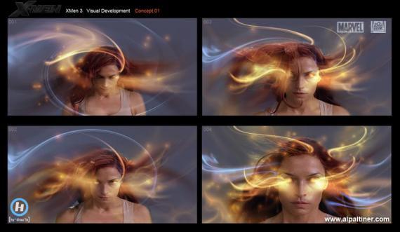 Concept art de X-Men  (2006) cuando Bryan Singer estaba al frente del proyecto