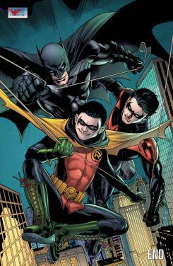 Página final de Batman and Robin Annual #2