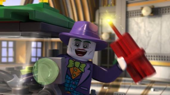 Imagen promocional del corto LEGO DC Comics: Batman Be-Leaguered (2014)