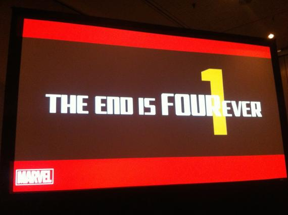 Marvel avanza The End is FOUREver en la New York Comic Con 2014