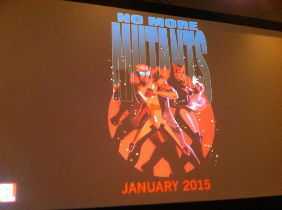 Marvel avanza No More Mutants en la New York Comic Con 2014