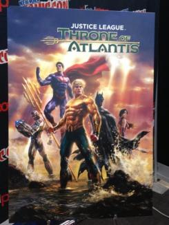 Primer vistazo a la carátula de Justice League: Throne of Atlantis (2015)