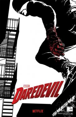Concept art de la serie Marvel's Daredevil (2015 - ?) por Joe Quesada