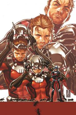 Portada de Ant-Man 1, por Mark Brooks