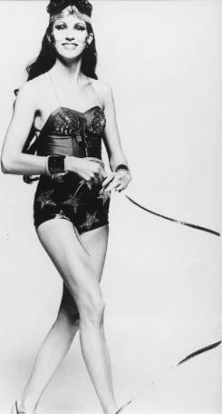 Angie Bowie para la película de Wonder Woman de 1974