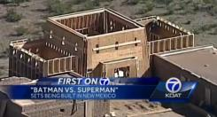Set de rodaje de Batman v Superman: Dawn of Justice (2016) en New Mexico, posible vistazo a Themyscira