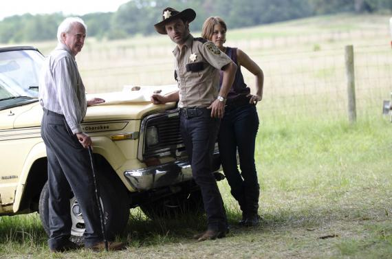 Imagen de la segunda temporada de The Walking Dead