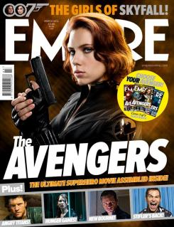 Portada alternativa de Empire de Marzo de 2012, dedicada a Black Widow en The Avengers
