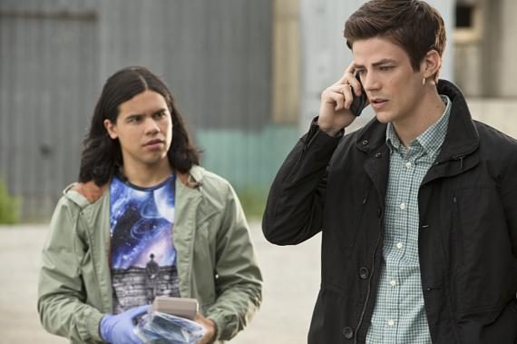 Imagen del quinto capítulo de la primera temporada de The Flash (2014 - ?)