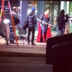 Imagen del set de Batman v Superman: Dawn of Justice (2016)