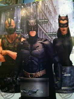 Bustos de The Dark Knight Rises (2012) de DC Direct