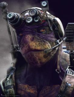 Concept art de Donatello en Teenage Mutant Ninja Turtles (2014), por Jared Krichevsky