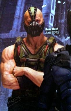 Busto de Bane de The Dark Knight Rises (2012) de DC Direct