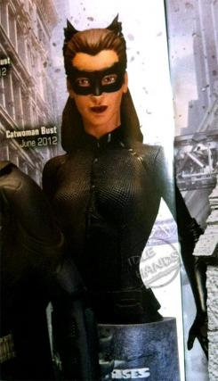 Busto de Catwoman de The Dark Knight Rises (2012) de DC Direct