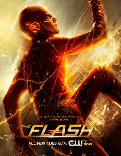 Póster promocional de The Flash: Lo imposible