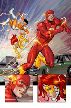 Interior de Convergence Speed Force
