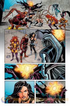 Interior de Convergence Teen Titans