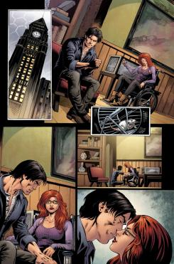 Interior de Convergence Nightwing/Oracle