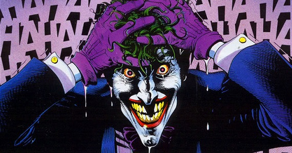 Imagen del comic The Killing Joke (La Broma Asesina), Joker, por Brian Bolland