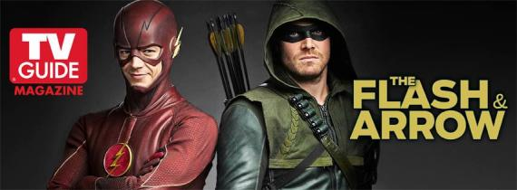 Banner a alta calidad del crossover entre Arrow y The Flash
