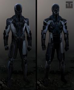 Diseño de vestuario alternativo para X-Men: Días del Futuro Pasado (2014), por Joshua James Shaw