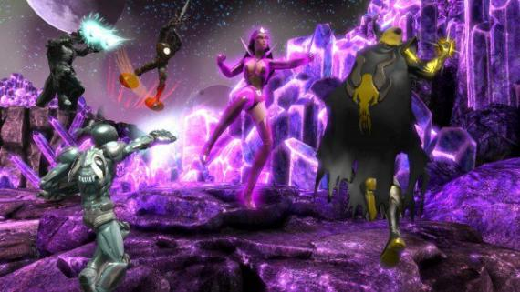 Imagen del DLC War of Light Part 2 de DC Universe Online (2011)