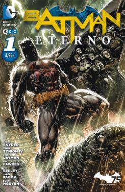 Portada de Batman Eterno núm. 1 editado por ECC Ediciones