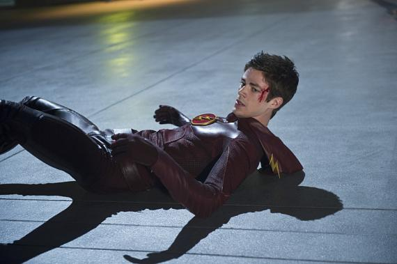 Imagen promocional de The Flash 1x09: The man in the yellow suit