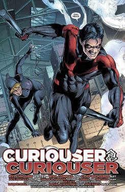 Página de Nightwing vol. 3 #27