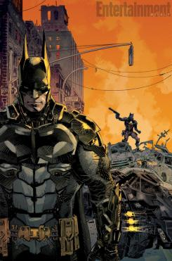Portada de Arkham Knight, precuela digital de Batman: Arkham Knight
